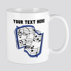 Custom Music Sheet Mugs